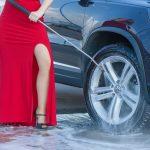 Auto Waschen mit Kärcher