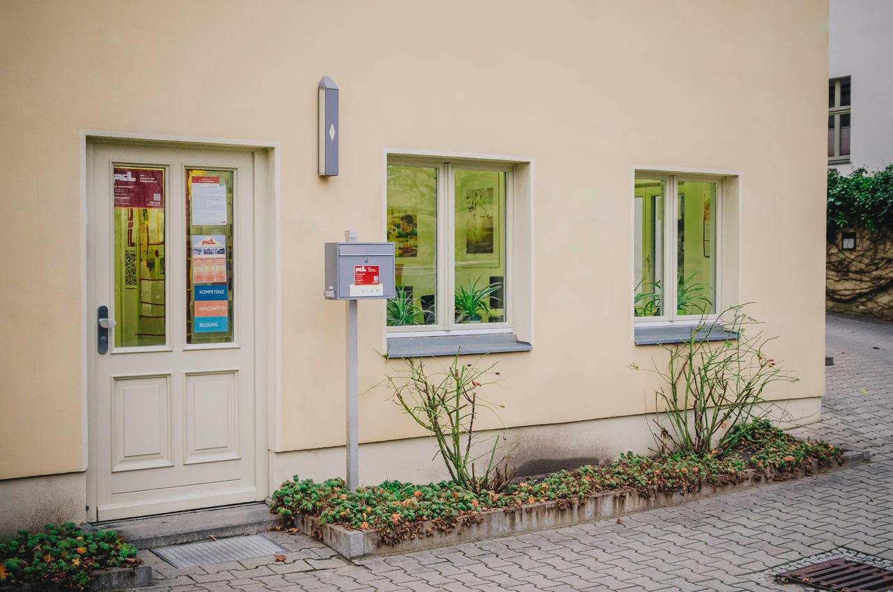 FidL-Geschäftsstelle in der Alleestraße 1 in Potsdam